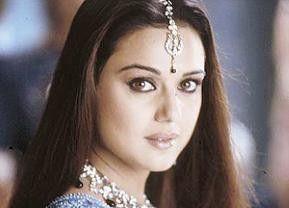 Das ist ein schönes Fest! Preity Zinta kann sich nicht so recht freuen