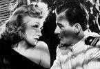 Auftakt zum Liebesgeplänkel: Marlene Dietrich und John Wayne