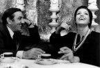 Erinnern sich an glückliche Tage: Lino Ventura und Françoise Fabian