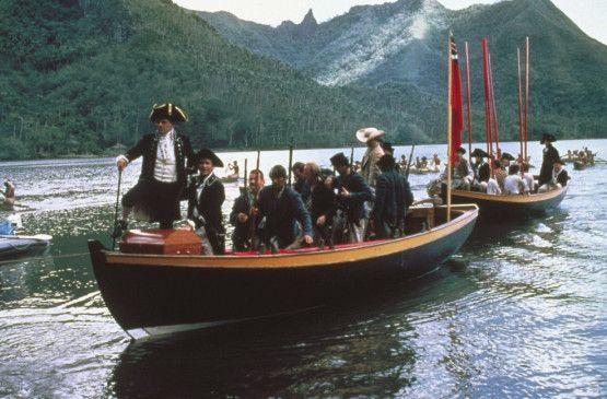 Die Besatzung der Bounty erreicht Tahiti