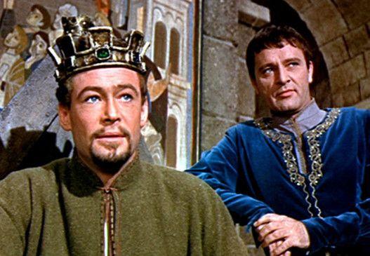 Werden von Freunden zu Feinden: Heinrich II. (Peter O'Toole, l.) und Becket (Richard Burton)