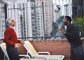 João Carlos Martins (l.) mit seinem Freund und Landsmann Pelé