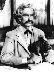 Fredric March brilliert als Mark Twain