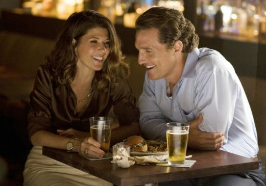 Haben noch Spaß zusammen: Marisa Tomei und Matthew McConaughey