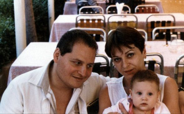 Familienfoto aus glücklichen Tagen?