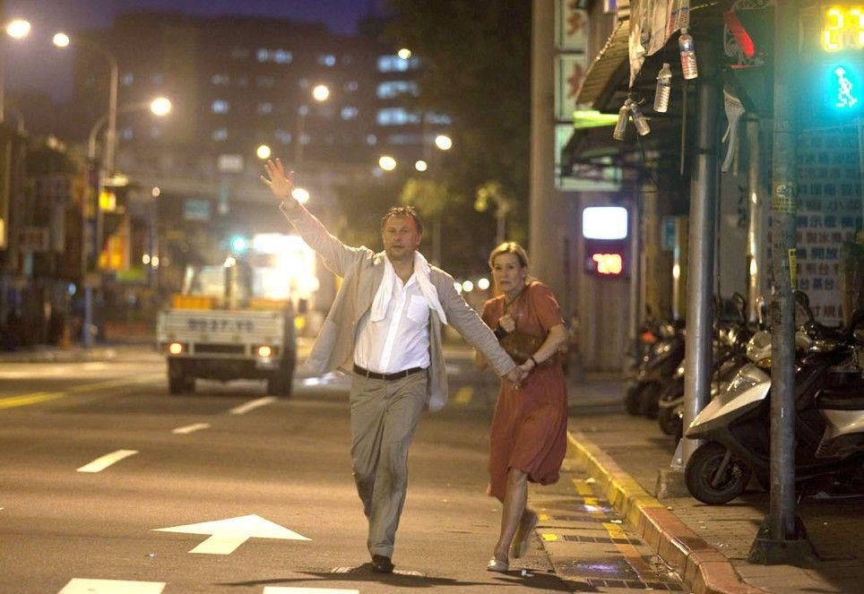 Nur weg hier! Staffan (Michael Nyqvist) und Brigitta (Suzanne von Borsody) auf der Flucht