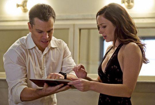 Wollen den Plan ändern: Matt Damon und Emily Blunt