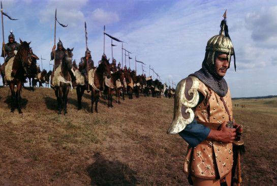Auf zum Gefecht - Omar Sharif als Dschingis Khan