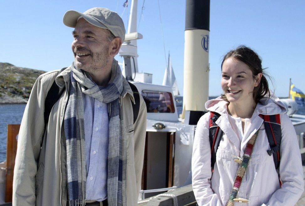 Endlich in Schweden angekommen: Jean-Pierre Darroussin und Anaïs Demoustier als Vater und Tochter