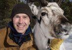 """Drehstart der neuen """"Terra X""""-Reihe """"Terra X – Files"""" mit Moderator Dirk Steffens in Lappland."""