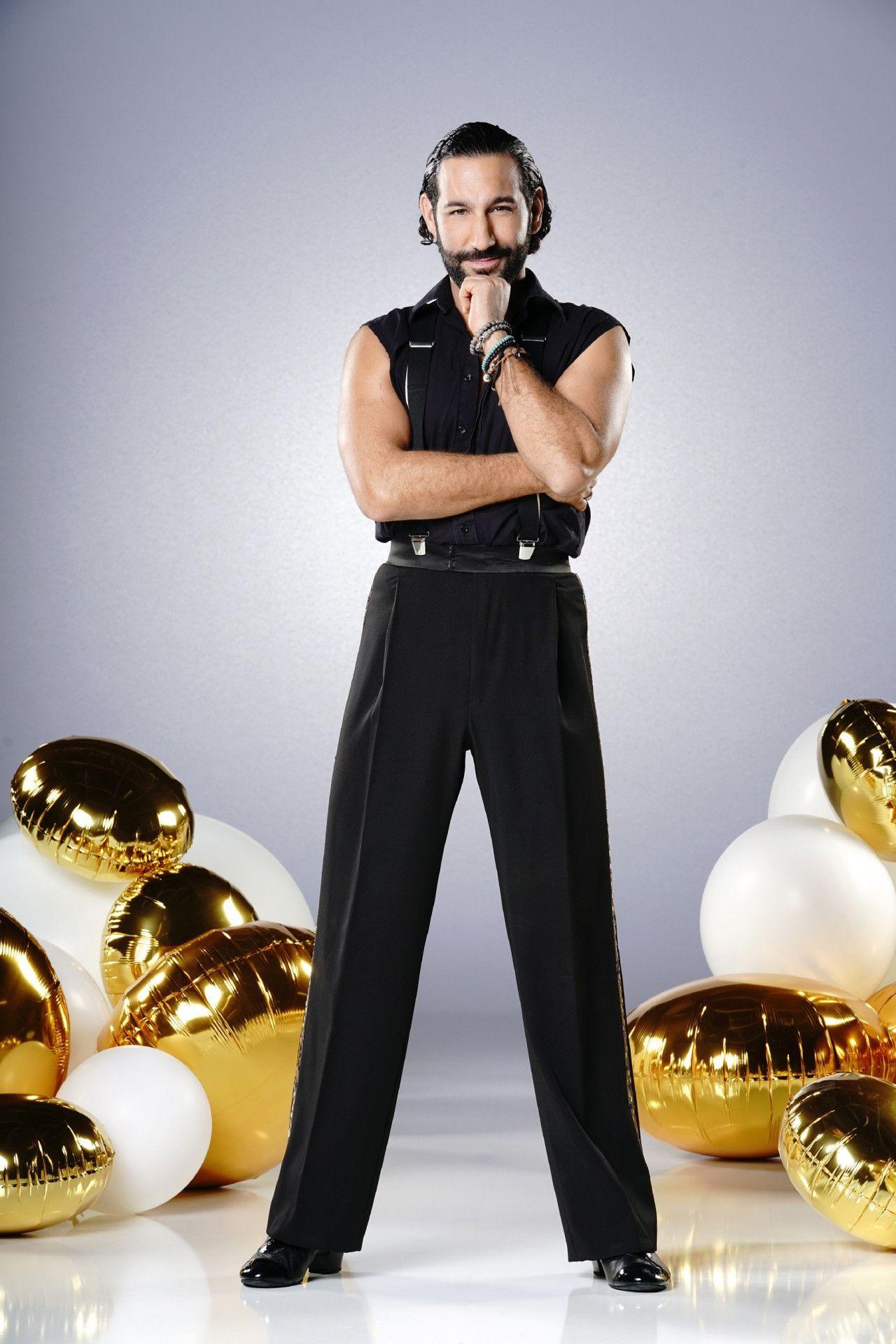 """Auch Profitänzer Massimo Sinató ist kein unbeschriebenes Blatt. Er gehört zu den erfahrensten """"Let's Dance""""-Tänzern."""