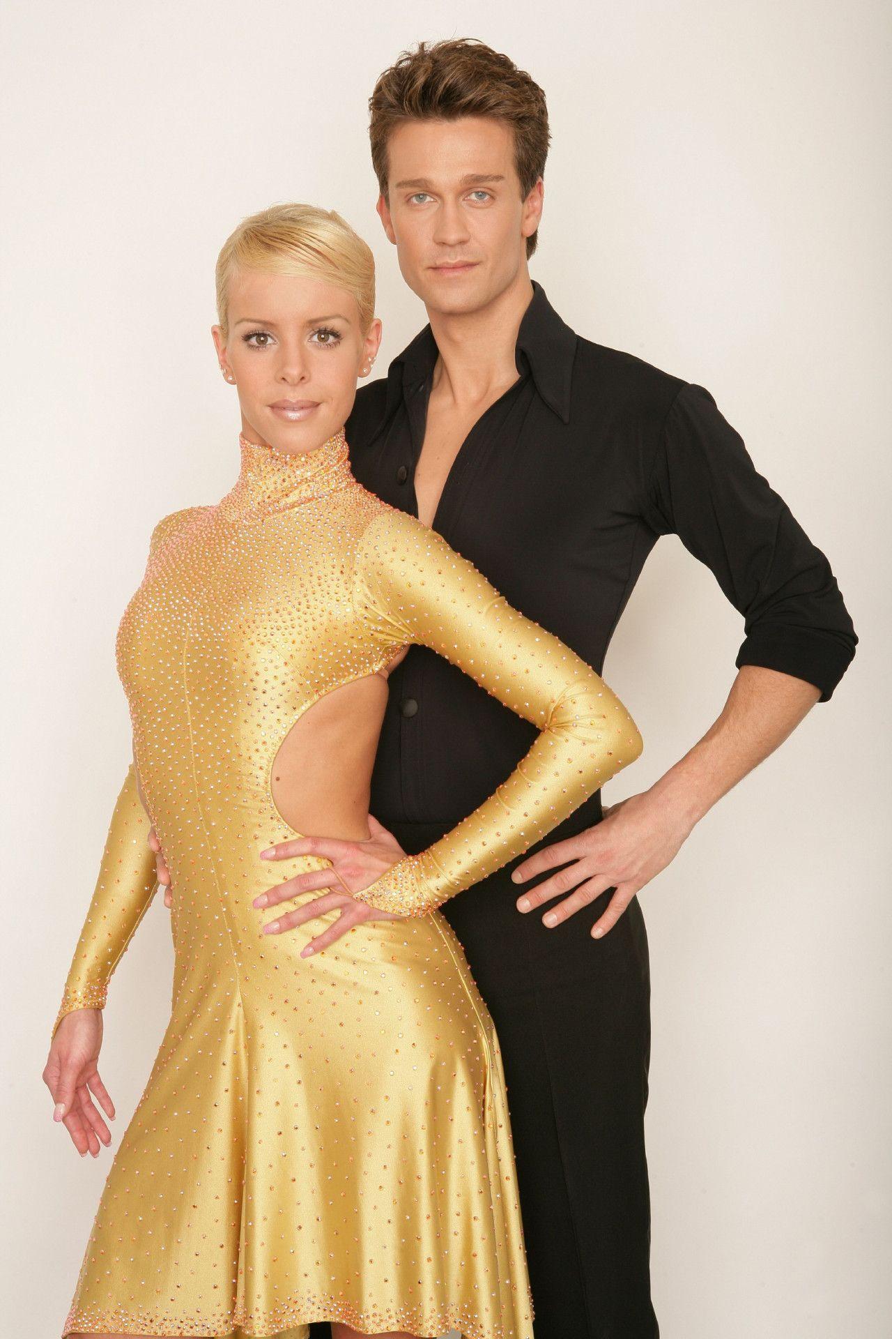 Wayne Carpendale und Isabel Edvardsson tanzten sich im Finale der ersten Staffel am 21. Mai 2006 zum Sieg.