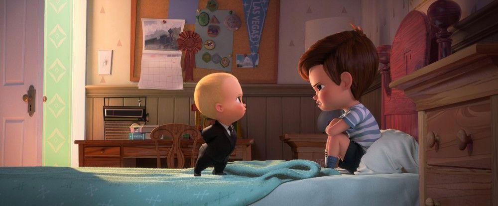 Tim und das Boss Baby müssen wohl oder übel gemeinsame Sache machen.