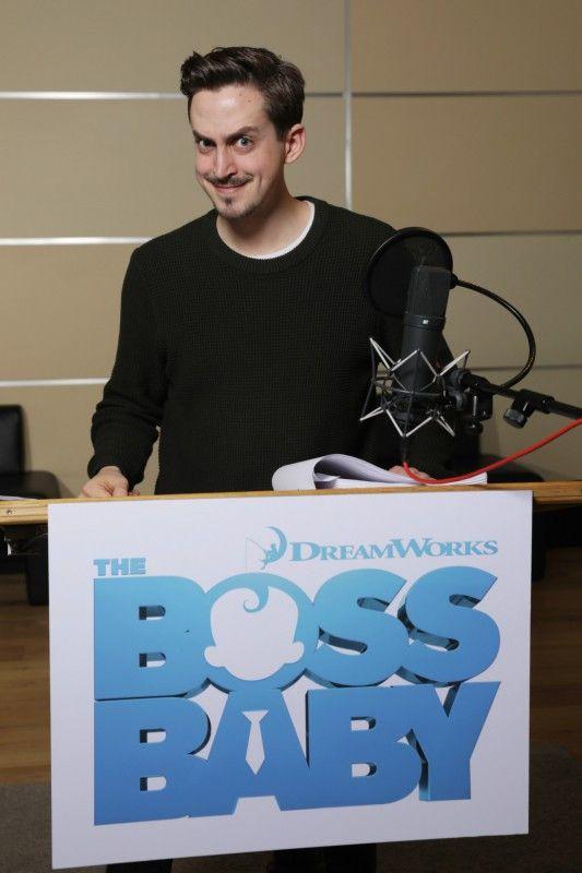 "Auch YouTuber Marti ""theClavinover"" Fischer durfte bei ""The Boss Baby"" ans Mikrofon."