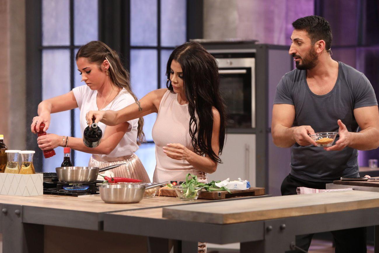 """Hier noch ein paar weitere Impressionen aus der ersten Sendung der neuen Staffel """"Grill den Henssler"""" ..."""