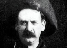 Ein unbekannter Darsteller in dem ersten Western der Filmgeschichte