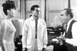 Eheprobleme im geteilten Berlin: Pamela Tiffin, Horst Buchholz und James Cagney
