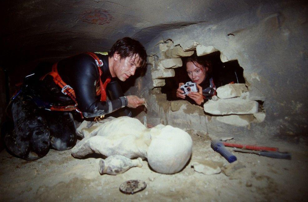 Karl (Tobias Moretti) und Paula (Katja Weitzenböck) sind auf einen Schatz gestoßen