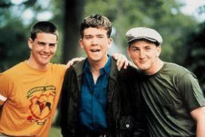 Noch können Tom Cruise, Timothy Hutton und Sean Penn (v.l.) lachen...