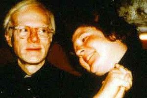 Voll drauf! Brigid Berlin mit Andy Warhol
