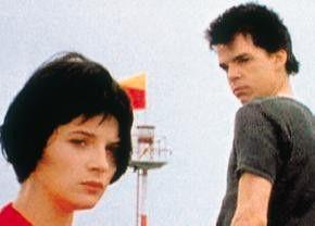 Die Nacht ist doch noch jung, oder? Juliette  Binoche und Denis Lavant