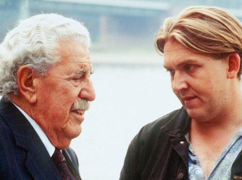 Auf Tätersuche: Willy Millowitsch (l.) mit dem jungen Dietmar Bär