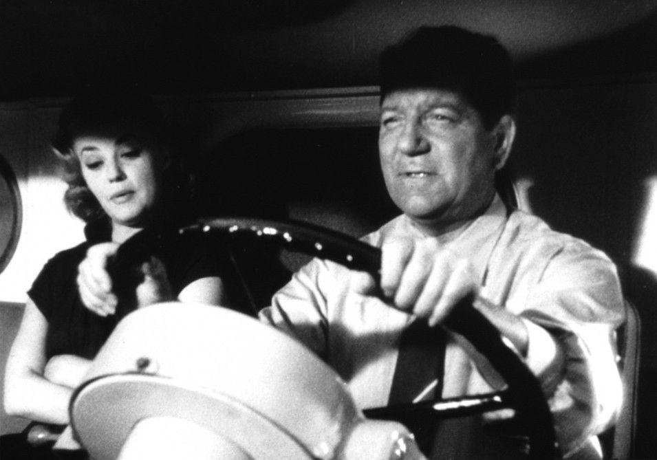 Jean Chape (Jean Gabin) und seine Freundin (Jeanne Moreau) führen ein Leben auf der Überholspur