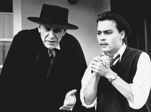Ich bin Dracula: Martin Landau (l.) mit Johnny Depp