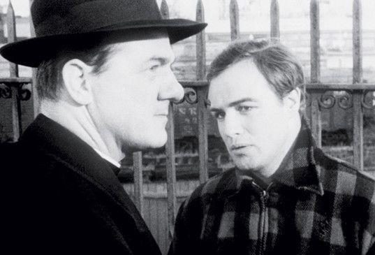 Okay, ich mach mit! Marlon Brando (r.) und Karl Malden