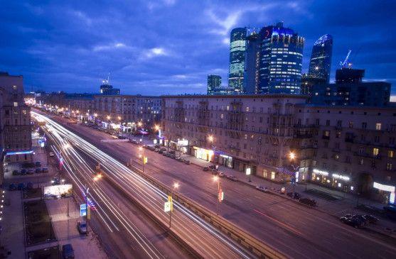 Moskau - der Arbeitsplatz von Marina, Alla und Viktoria