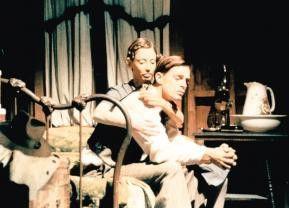 Willkommene Abwechslung: Bowie (Keith Carradine)  amüsiert sich mit Keechie (Shelley Duvall)
