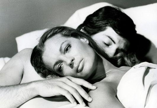 Califfa (Romy Schneider) genießt die Zeit zu zweit