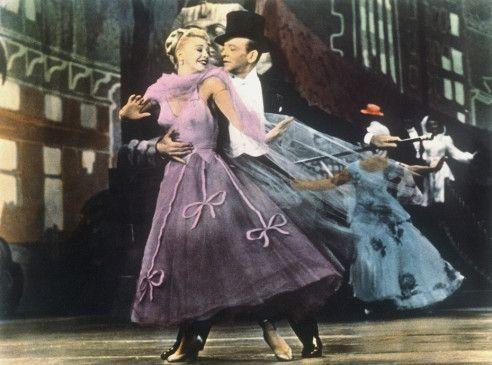 Nicht immer einer Meinung: Dinah (Ginger Rogers) und Josh Barkley (Fred Astaire)