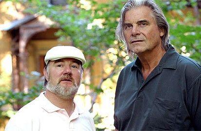 Schöne Villen hier! Udo Samel (l.) und Peter Simonischek