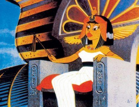 Kleopatra guckt mal wieder ziemlich streng