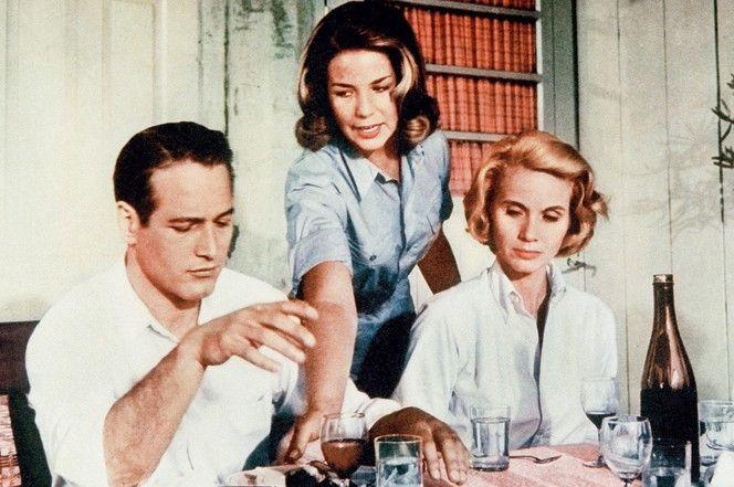 Sie wagen den Neuanfang: Paul Newman, Alexandra Stewart, Eva Marie Saint (v.l.)