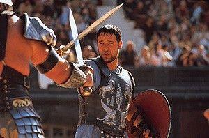 Ich bin eindeutig der Beste! Russell Crowe beeindruckt als Gladiator.