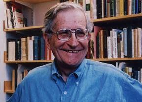 Einer der schärfsten Kritiker der US-Außenpolitik: Professor  Noam Chomsky