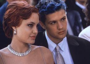 Ob sie wohl meine blauen Haare  mag? Ryan Phillippe und  Angelina Jolie