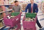Ich kaufe nur noch Pudding! Adam Sandler (r.) und Luis Guzman