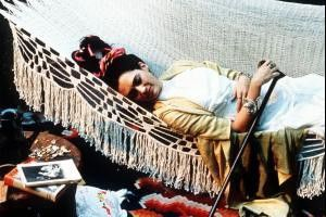 Ofelia Medina als Malerin Frida Kahlo