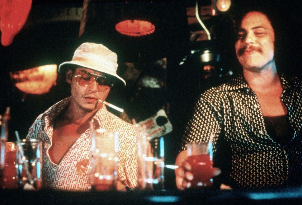 Uihhh, sind wir stoned! Johnny Depp (l.) und  Benicio Del Toro