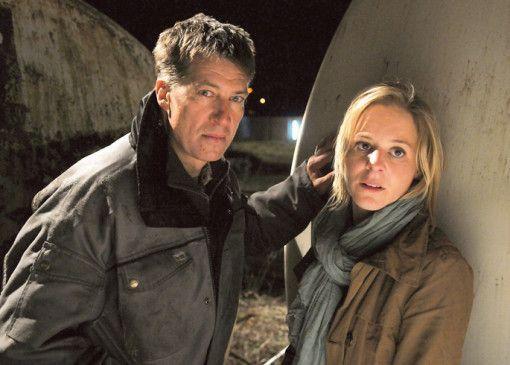 Gruber (Tobias Moretti) und Silvie (Bernadette Heerwagen) bangen um ihr Leben