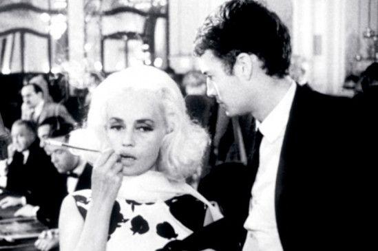 Claude Mann und Jeanne Moreau frönen dem süßen Leben