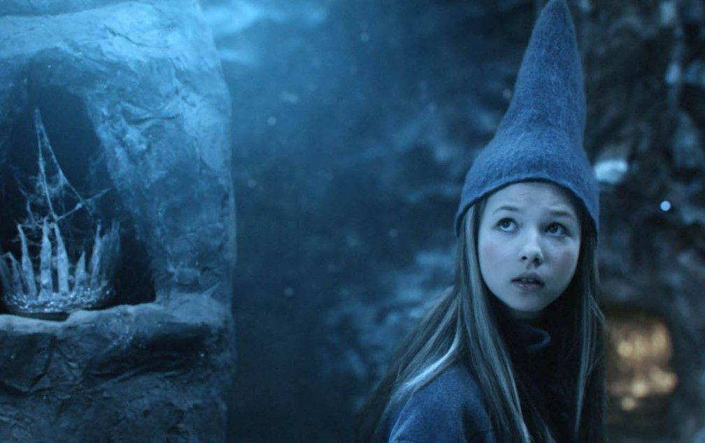 Die Prinzessin (Ane Viola Semb) in der blauen Höhle