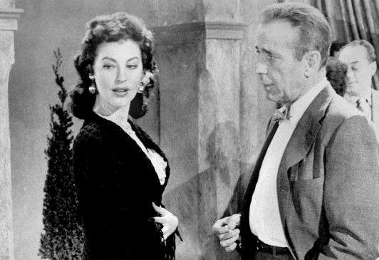 Unvergesslich: Ava Gardner (mit Humphrey Bogart) als Hollywood-Star