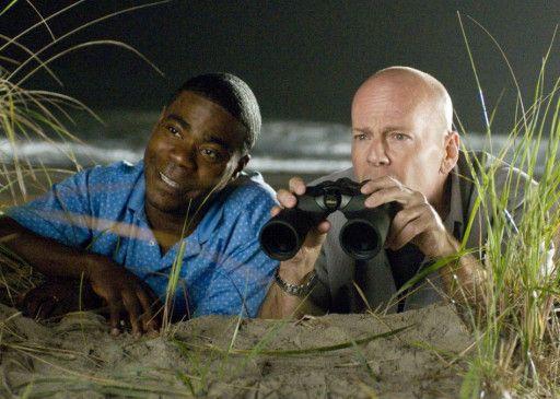 Einer muss ja Witze machen! Tracy Morgan und Bruce Willis (v.l.)