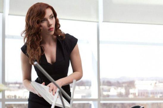 """Ist sie für oder gegen ihren Chef """"Iron Man""""? Scarlett Johansson als """"Black Widow"""""""