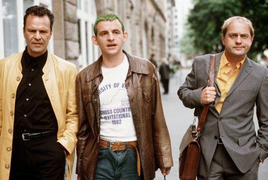 Wenn wir nicht tolle Männer sind! Peter Sattmann,  Dominique Horwitz und Uwe Ochsenknecht (v.l.)