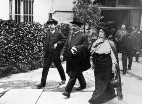 Opfer eines infamen Doppelmordes: Karl Liebknecht  (l.) und Rosa Luxemburg